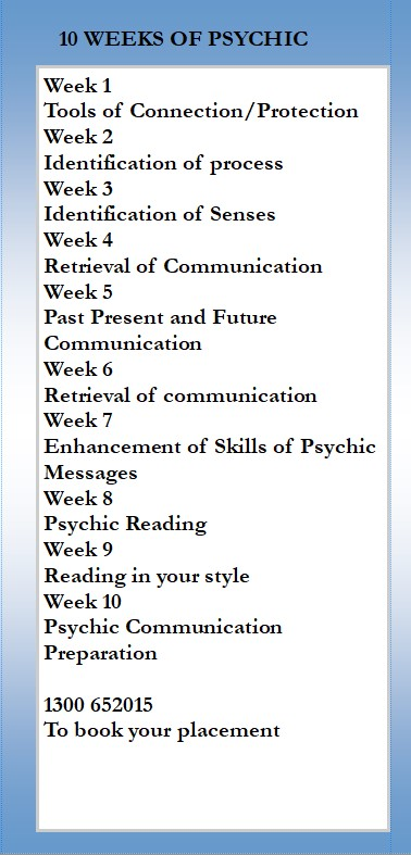 Psycic Dev back page